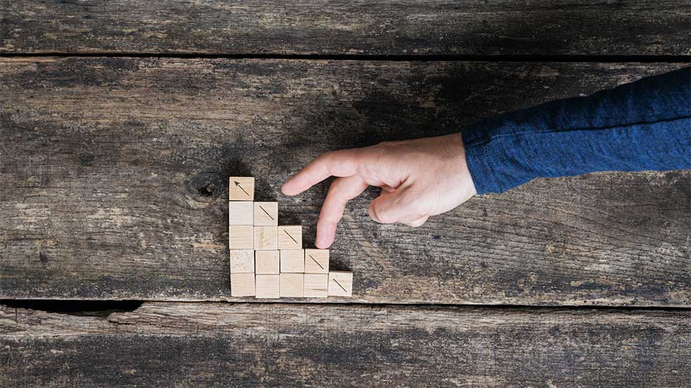 Разделяне на групи на базата на силни/слаби страни от умение за личностно развитие