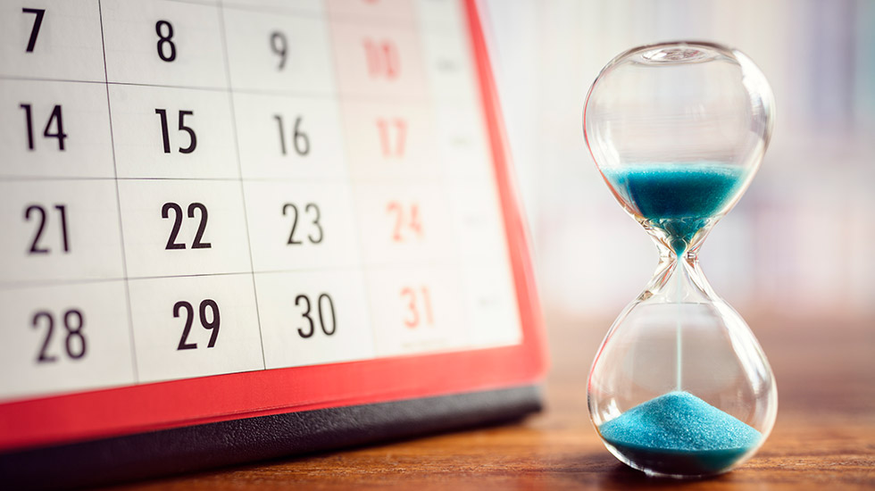 Списък от дейности, разпределени хронологично