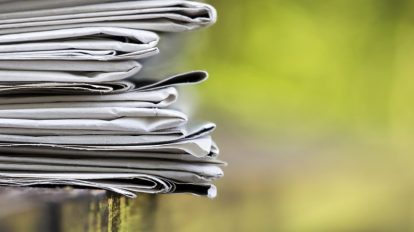 Открояване на конкретни теми във вестникарски заглавия/медии